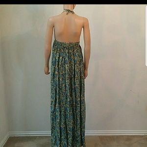 Novella Royale Dresses - Flash sale!!! Novella Royale Blue Rose maxi halter